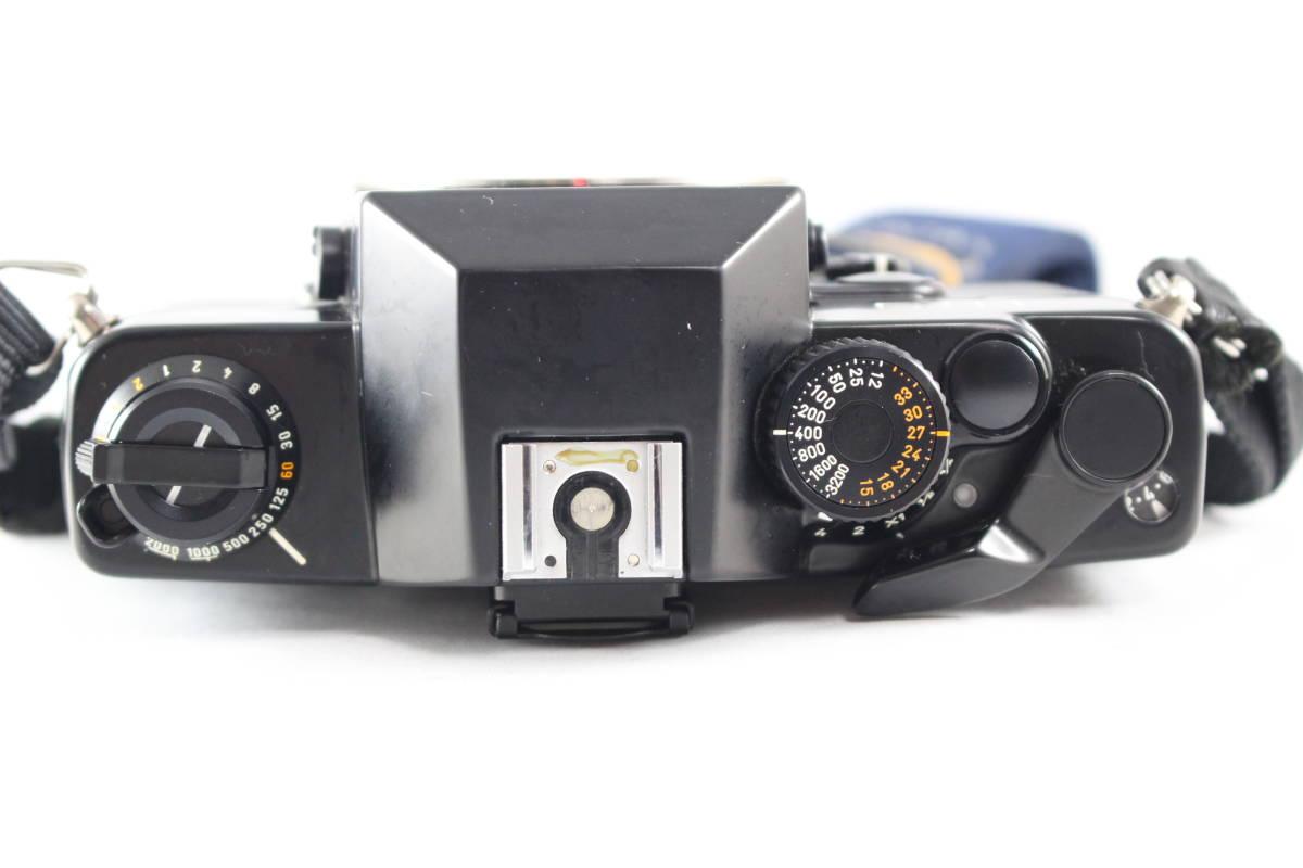 CONTAX コンタックス RTS フィルムカメラ ボディ + Carl Zeiss カールツァイス Planar T* 50mm F1.4 レンズ セット_画像5