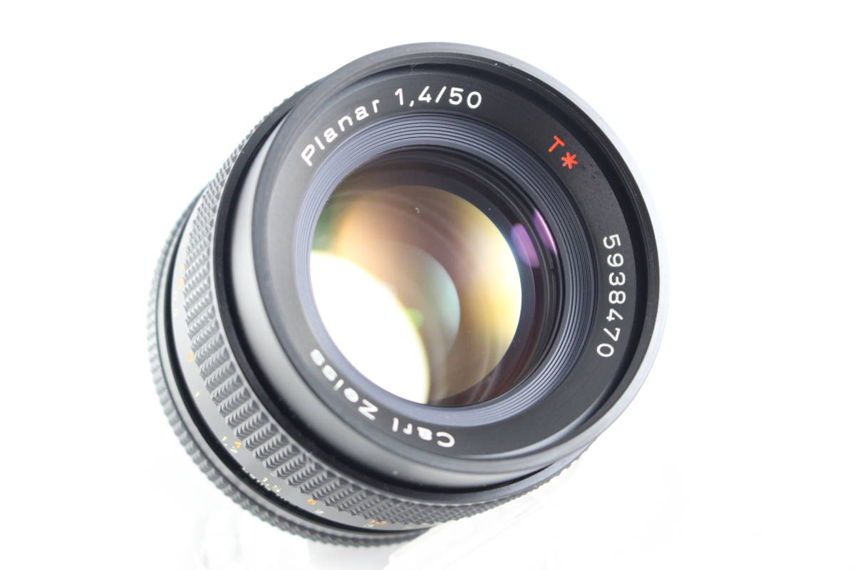 CONTAX コンタックス RTS フィルムカメラ ボディ + Carl Zeiss カールツァイス Planar T* 50mm F1.4 レンズ セット_画像10