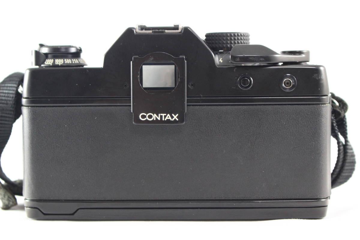 CONTAX コンタックス RTS フィルムカメラ ボディ + Carl Zeiss カールツァイス Planar T* 50mm F1.4 レンズ セット_画像6