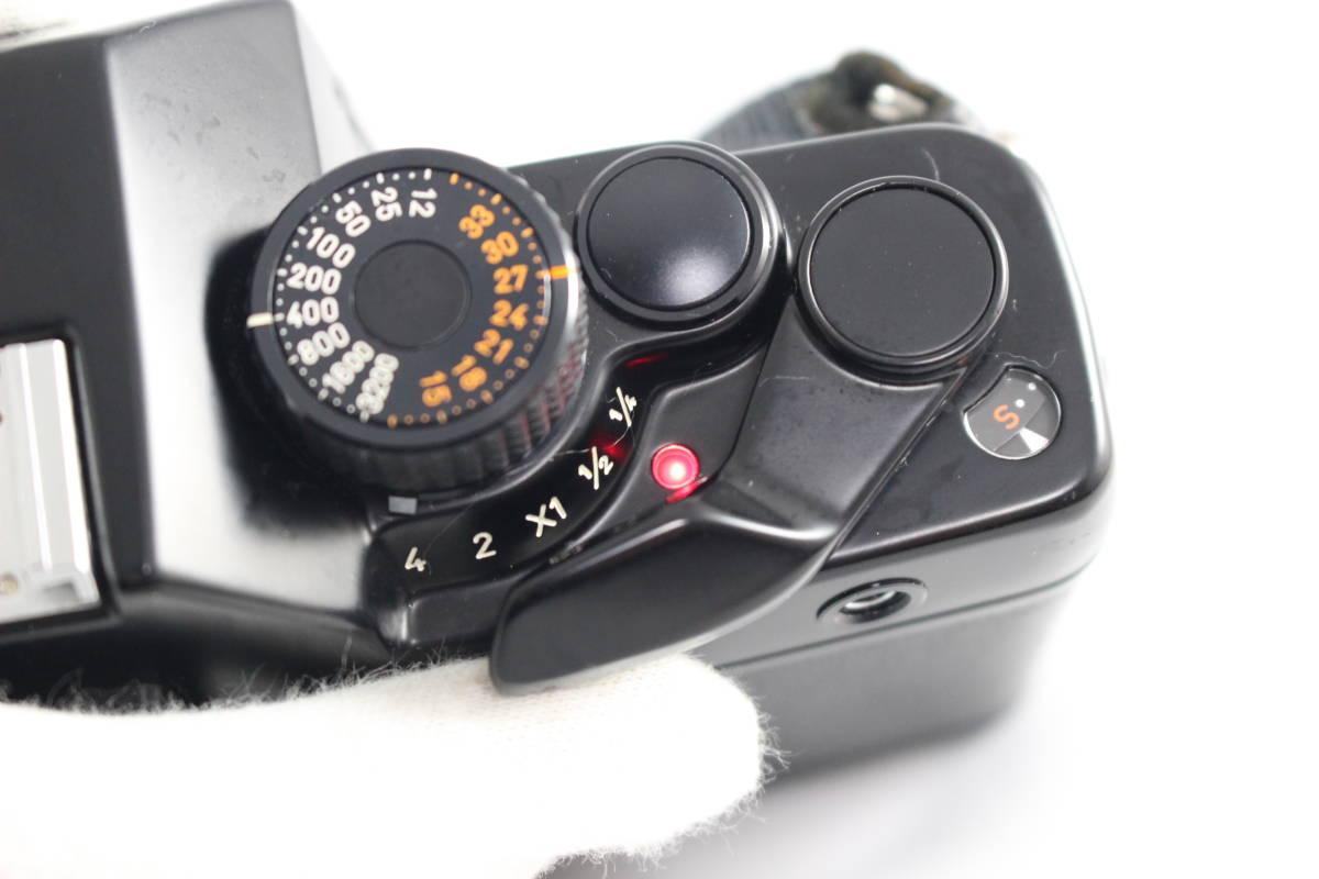 CONTAX コンタックス RTS フィルムカメラ ボディ + Carl Zeiss カールツァイス Planar T* 50mm F1.4 レンズ セット_画像9