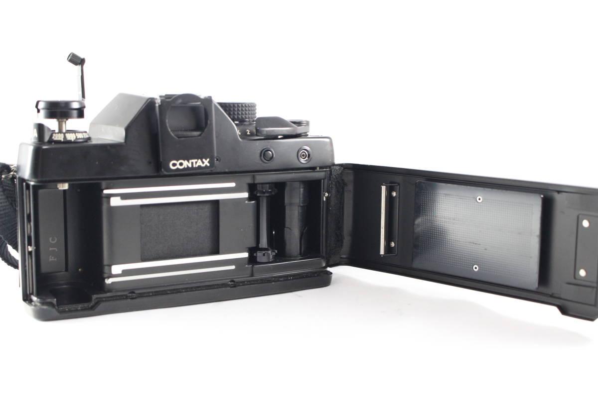 CONTAX コンタックス RTS フィルムカメラ ボディ + Carl Zeiss カールツァイス Planar T* 50mm F1.4 レンズ セット_画像7