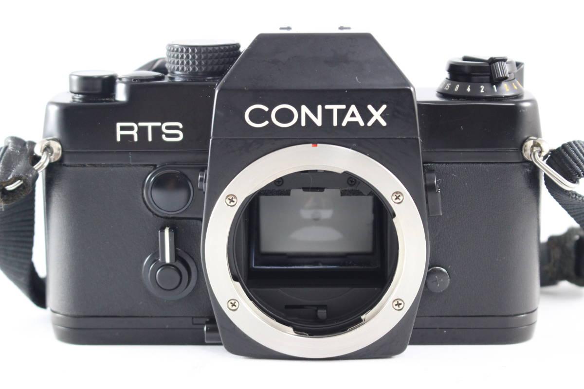 CONTAX コンタックス RTS フィルムカメラ ボディ + Carl Zeiss カールツァイス Planar T* 50mm F1.4 レンズ セット_画像4