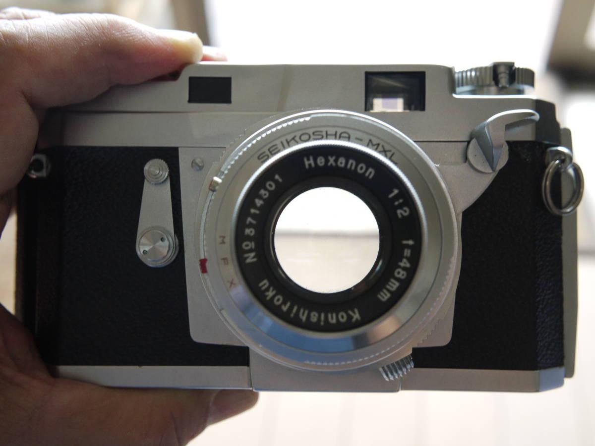 KONICA コニカⅢ ヘキサノン48ミリf2(メンテナンスほぼ不要でした ヘキサノンの写りは秀逸 すぐに撮影できます)_画像4