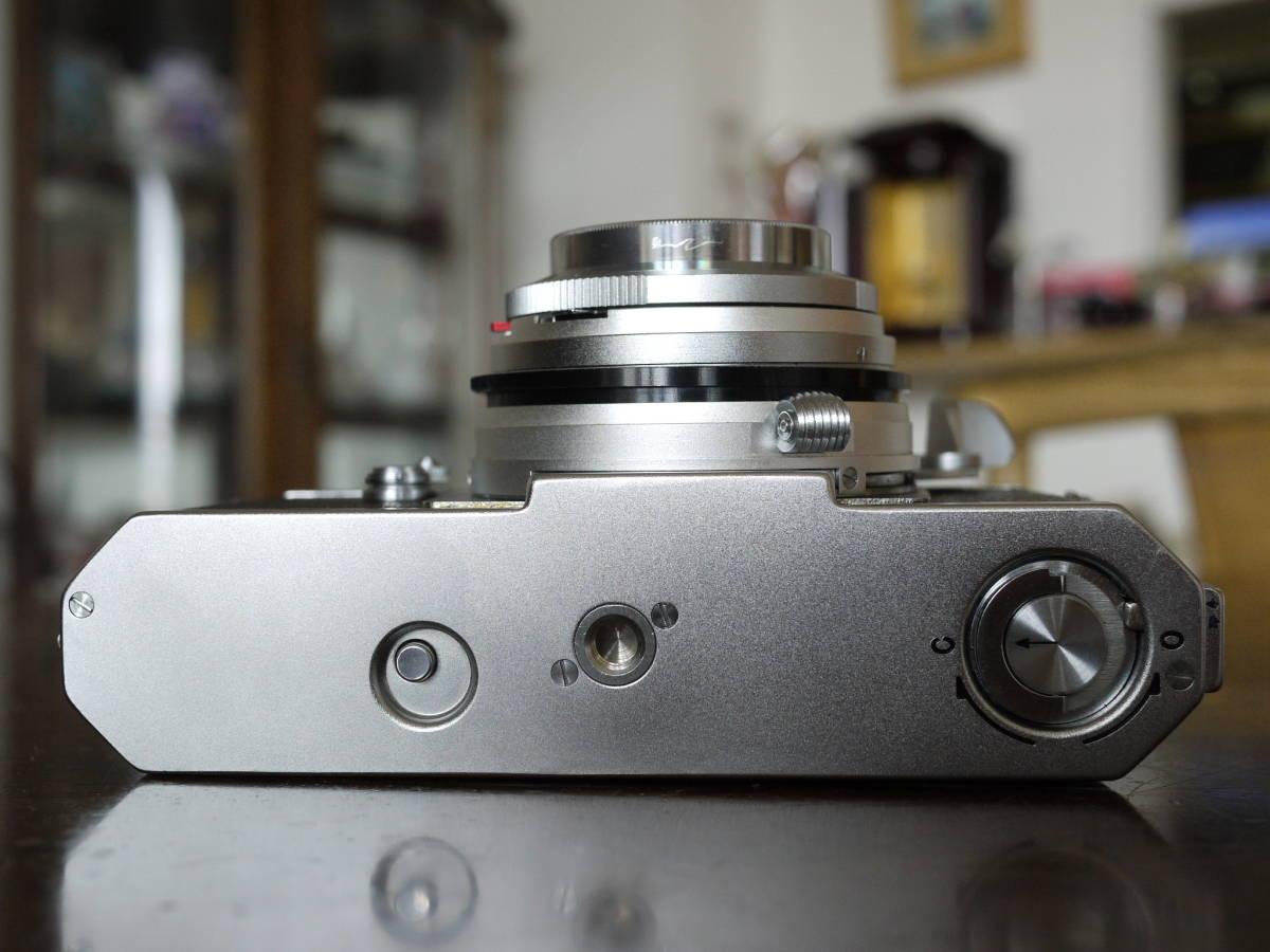 KONICA コニカⅢ ヘキサノン48ミリf2(メンテナンスほぼ不要でした ヘキサノンの写りは秀逸 すぐに撮影できます)_画像3