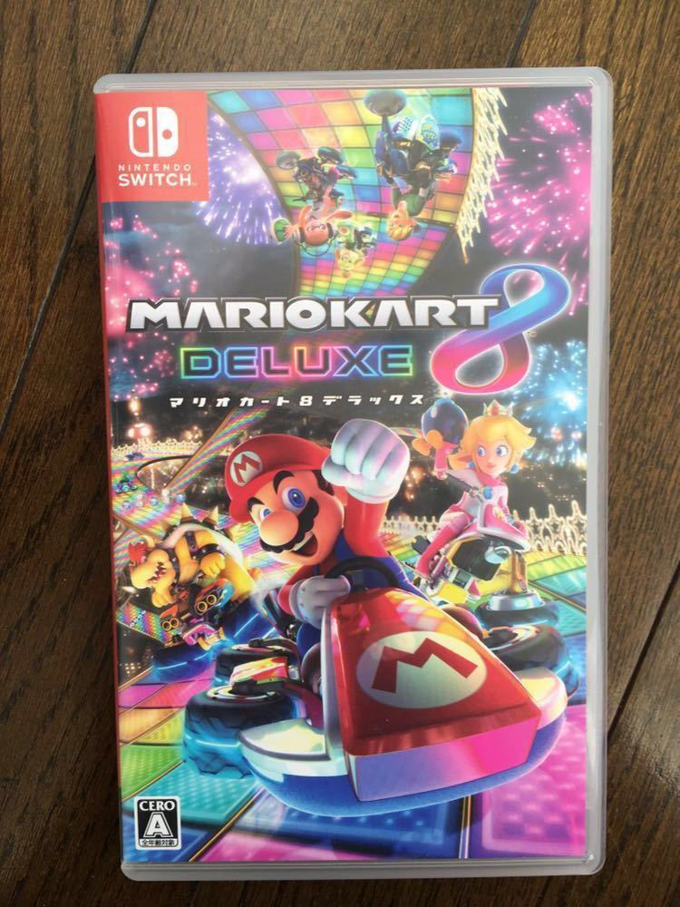 【美品】任天堂スイッチ Nintendo Switch マリオカート8デラックス