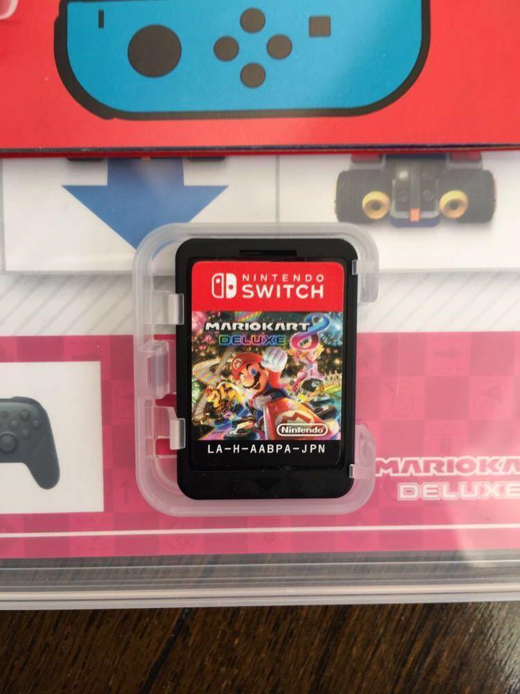 【美品】任天堂スイッチ Nintendo Switch マリオカート8デラックス_画像4