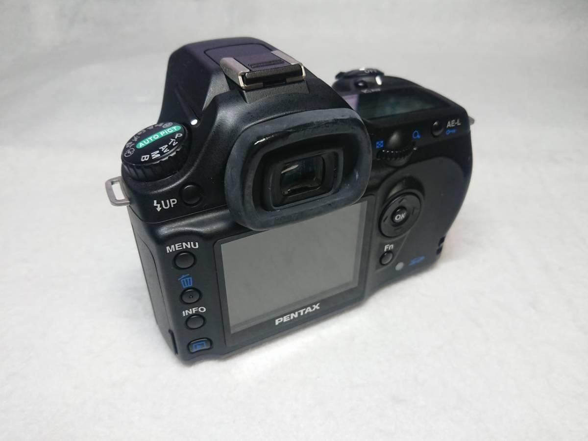 PENTAX ist DL 動作確認済 18-55mm/50-200mm レンズ2本セット 現状渡し_画像3