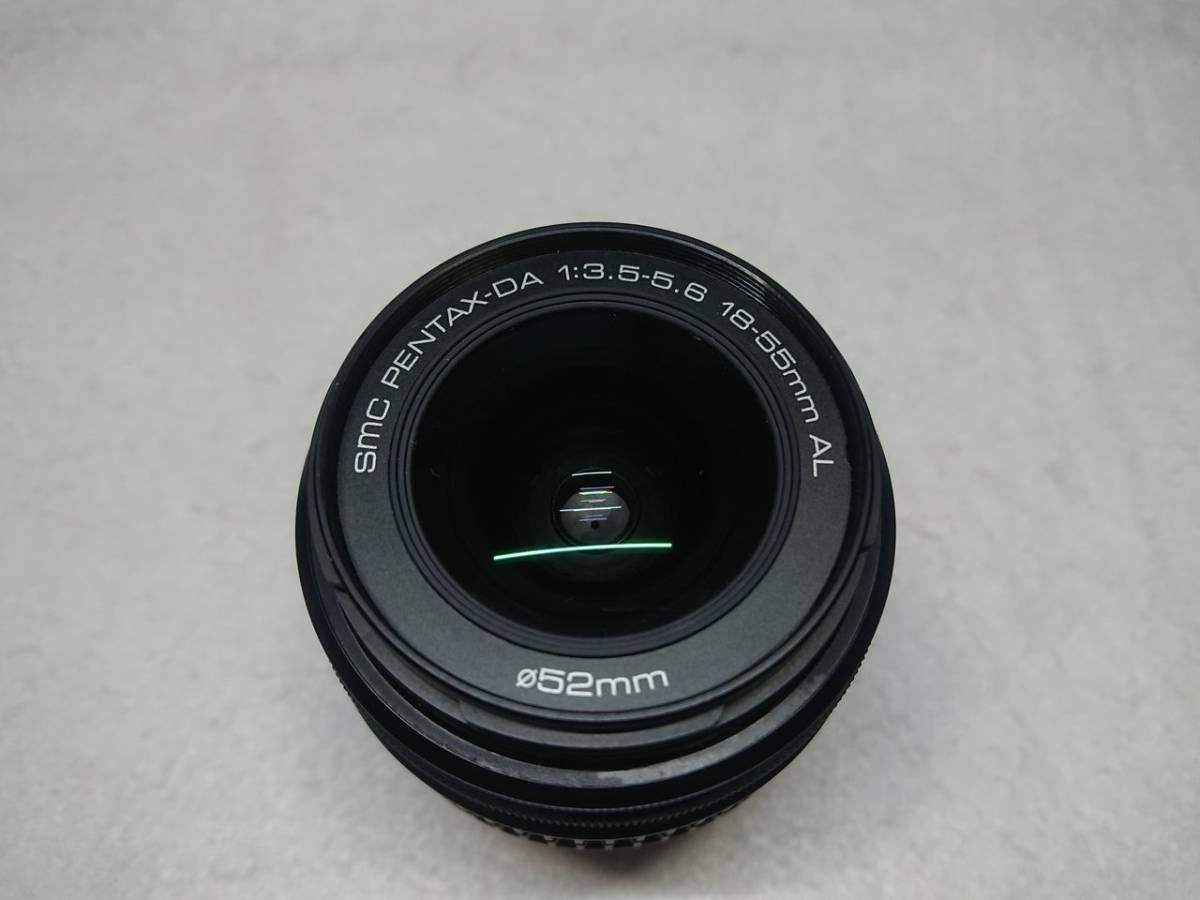 PENTAX ist DL 動作確認済 18-55mm/50-200mm レンズ2本セット 現状渡し_画像5