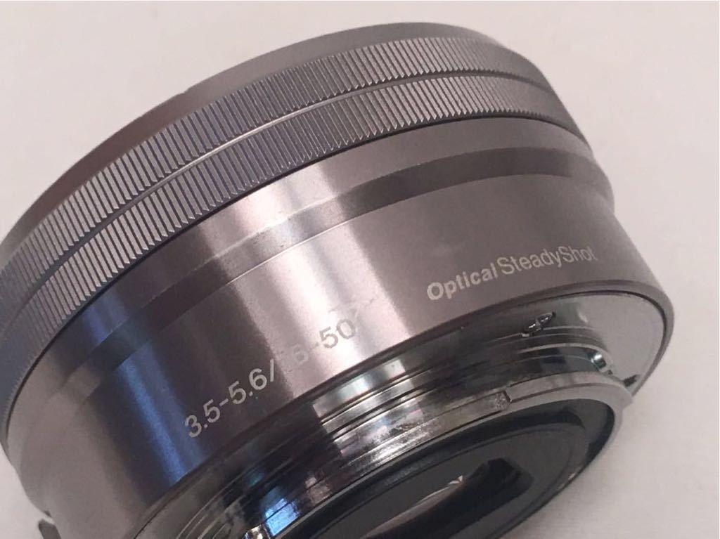 SONY E 3.5-5.6/PZ 16-50 OSS SELP1650 ジャンク品です。_画像3