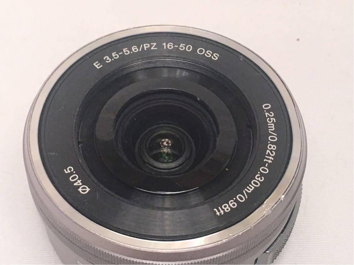 SONY E 3.5-5.6/PZ 16-50 OSS SELP1650 ジャンク品です。_画像2