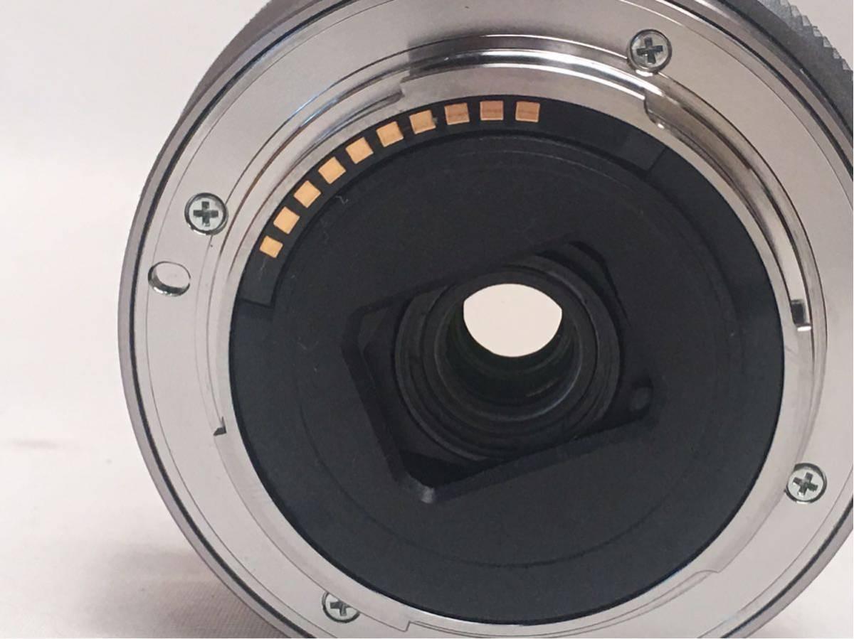 SONY E 3.5-5.6/PZ 16-50 OSS SELP1650 ジャンク品です。_画像9
