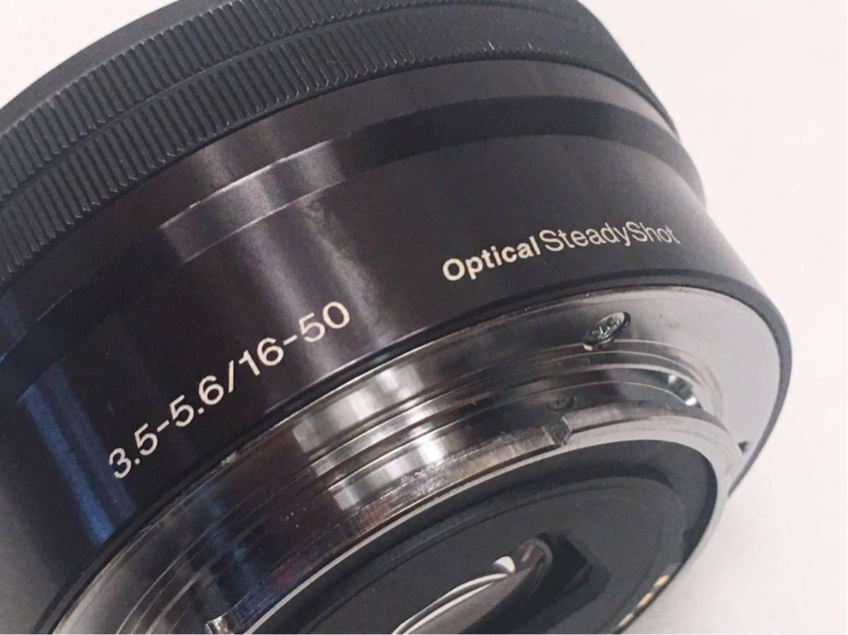 SONY E 3.5-5.6/PZ 16-50 OSS SELP1650 ジャンク品です。_画像7