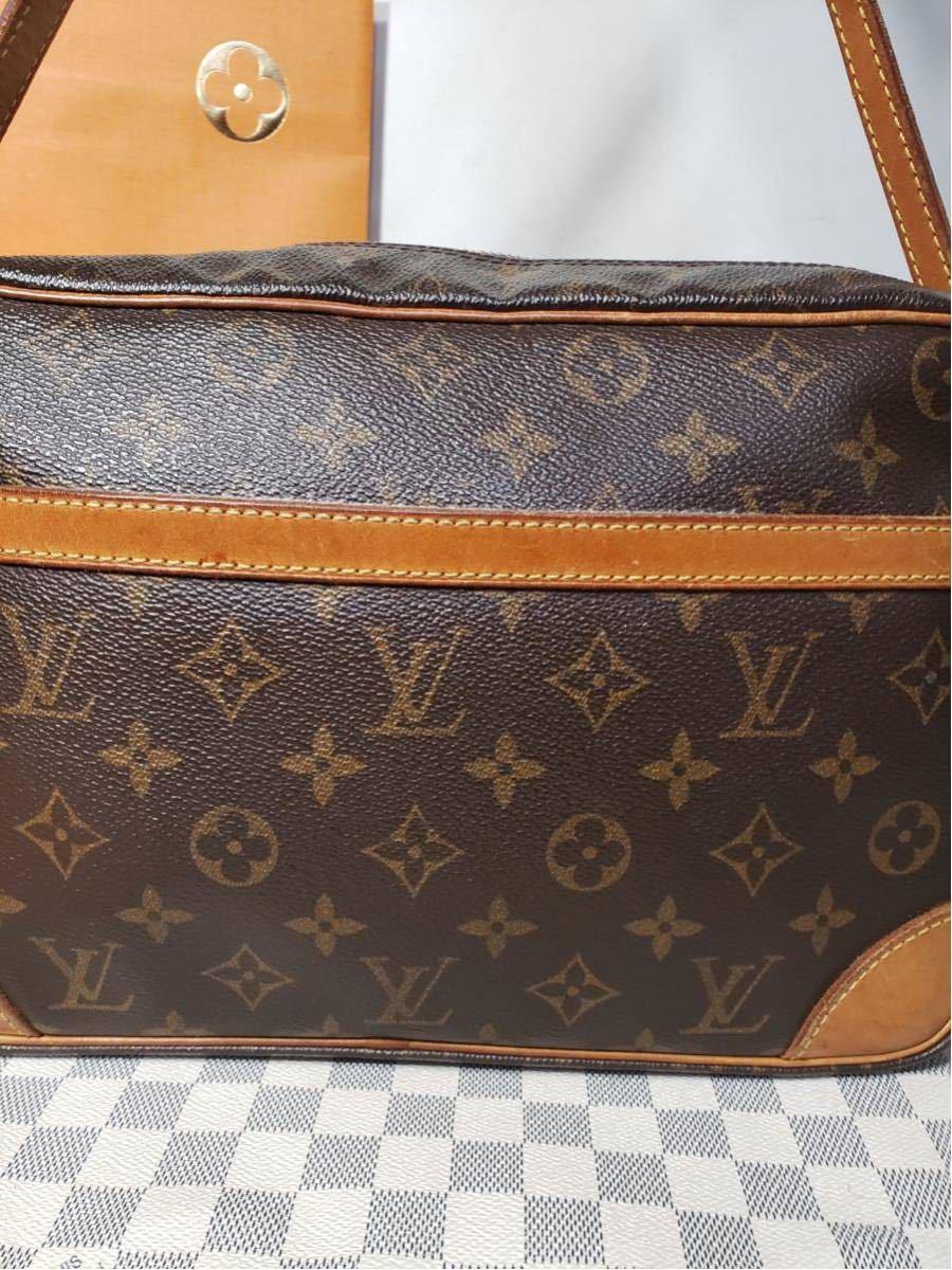 1円 極美品 LV ルイヴィトン モノグラム Louis Vuitton ショルダーバッグ トートバッグ ハンドバッグ 褐色 斜め掛け かばん 正規品_画像2