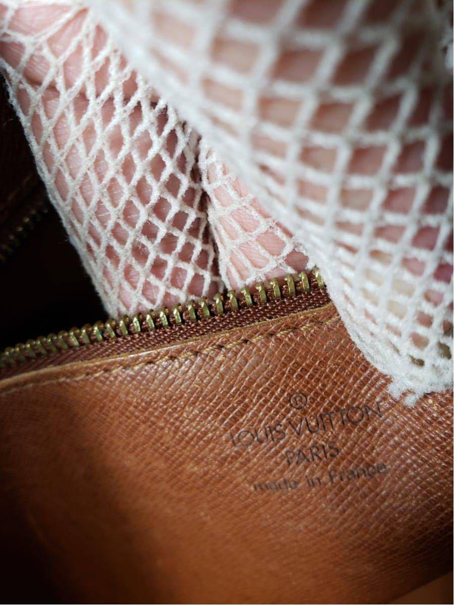 1円 極美品 LV ルイヴィトン モノグラム Louis Vuitton ショルダーバッグ トートバッグ ハンドバッグ 褐色 斜め掛け かばん 正規品_画像10