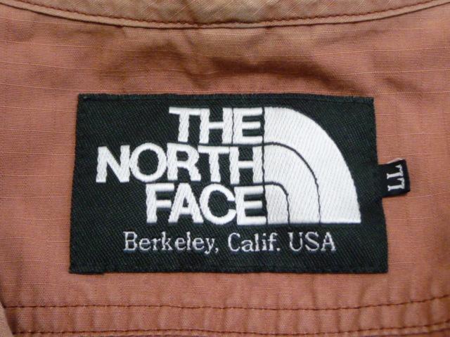 ビンテージ 90's ノースフェイス THE NORTH FACE ベスト フィッシングベスト 表記サイズLL 赤茶 レンガ色 アラミド繊維 日本製 良品_画像3