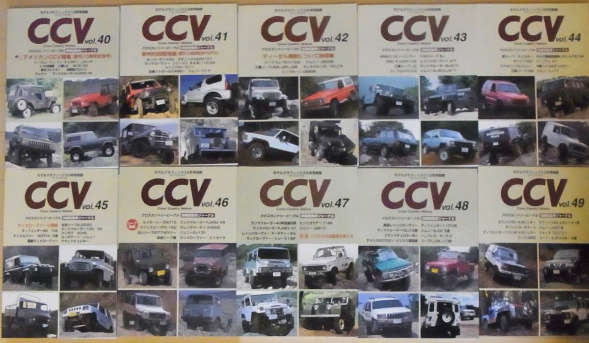 送料込み! 超希少本! 最終! CCV(クロスカントリー・ビークル)51冊(1~49、51、57) ランクル ジムニー_画像5