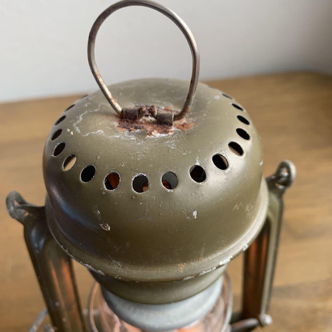 レア DITMAR 805 オリジナルペイント 点火確認済 ビンテージ アンティーク ストーム ランタン feuerhand 176e hasag wwⅡ _画像5
