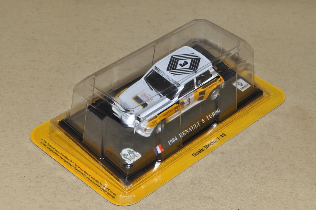 デル・プランド 世界のレーシングカーコレクション No.15 ルノー5ターボ 1984 S=1/43 ダイキャストモデル_画像4