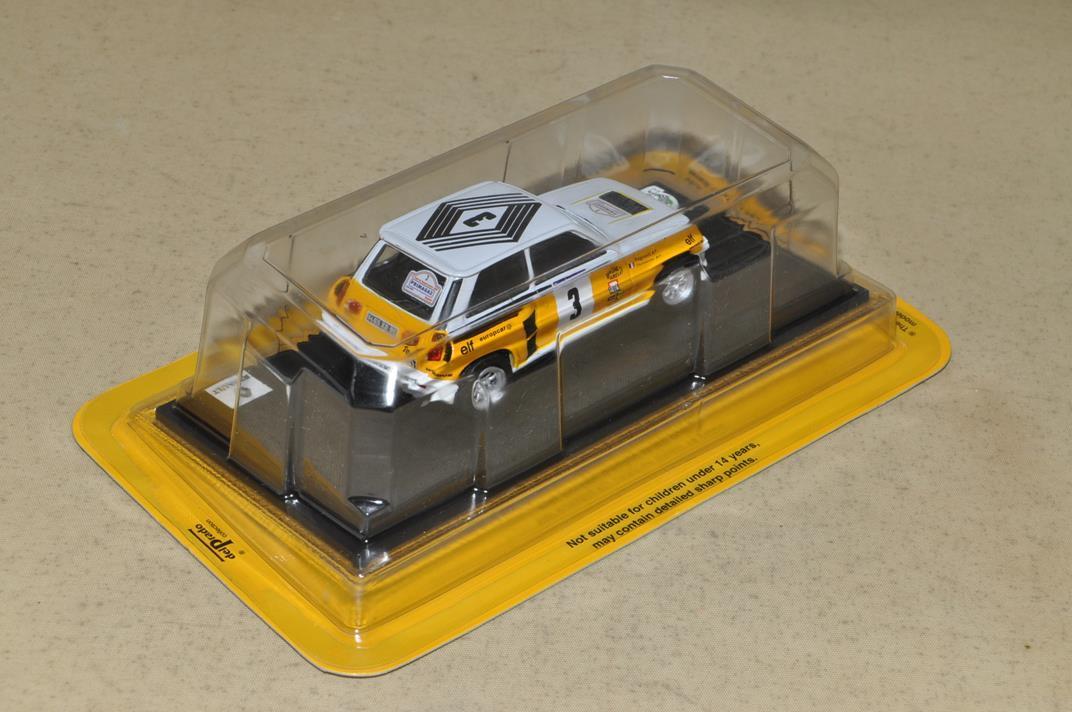 デル・プランド 世界のレーシングカーコレクション No.15 ルノー5ターボ 1984 S=1/43 ダイキャストモデル_画像5