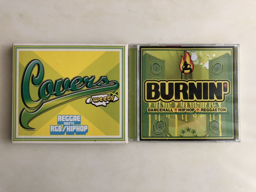 BURNIN'/Covers sweets レゲエ meets R&B HIP HOP オムニバスCD2枚組