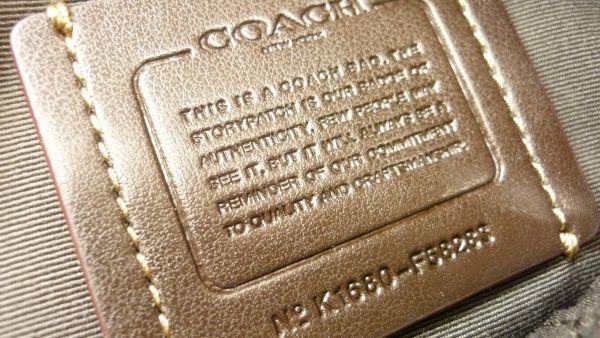 【COACH】《A0356》COACH コーチ トートバッグ F58283★シグネチャー 2WAY ショルダーバッグ ★(80サイズ)_画像9
