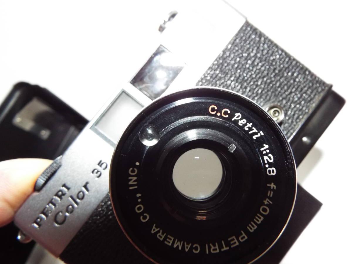 フルサイズ ペトリ カラー35 40㎜F2,8 レンズクモリ      マ22_画像7