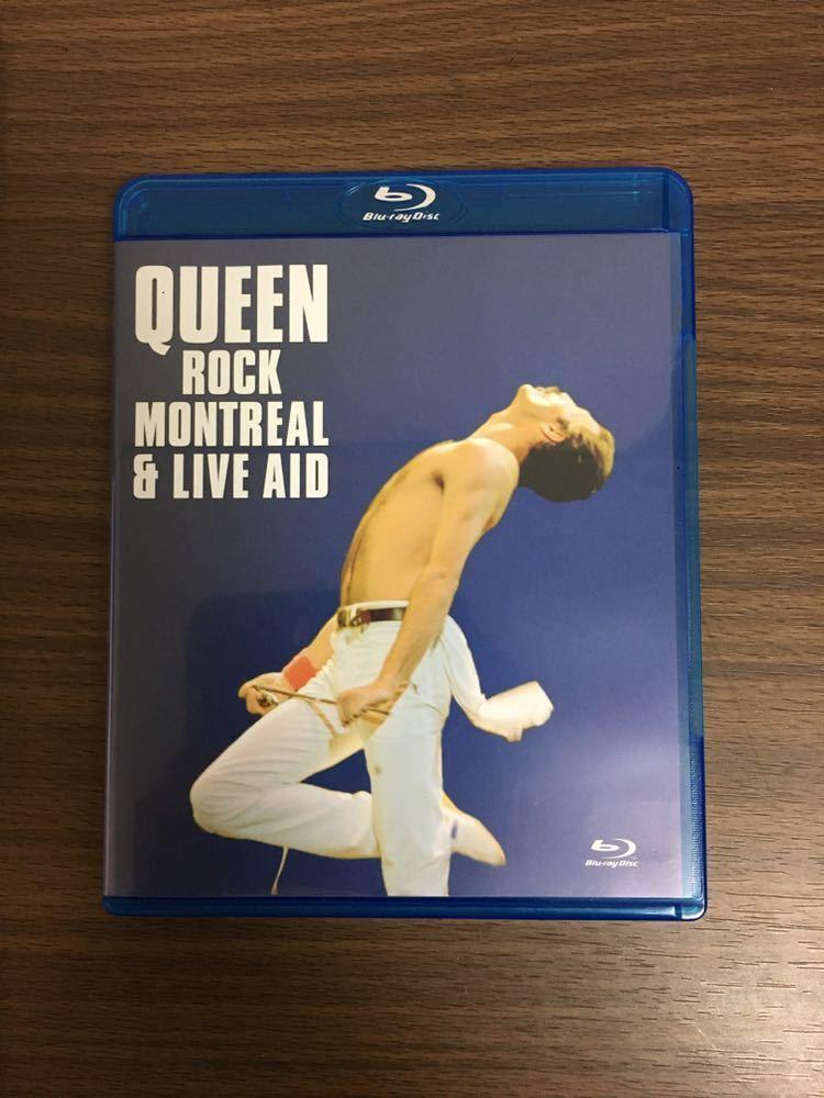 クイーン 伝説の証 ~ロック・モントリオール1981&ライヴ・エイド1985 [Blu-ray] Queen