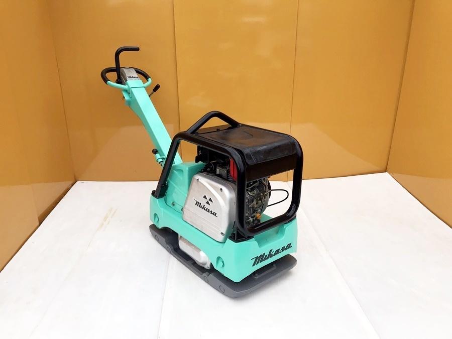 【三笠産業】MIKASA バイブロコンパクター セルモーター付き (MVH-306DS) 中古 転圧/舗装/建設/基礎/土木/農業/水道/設備_画像2