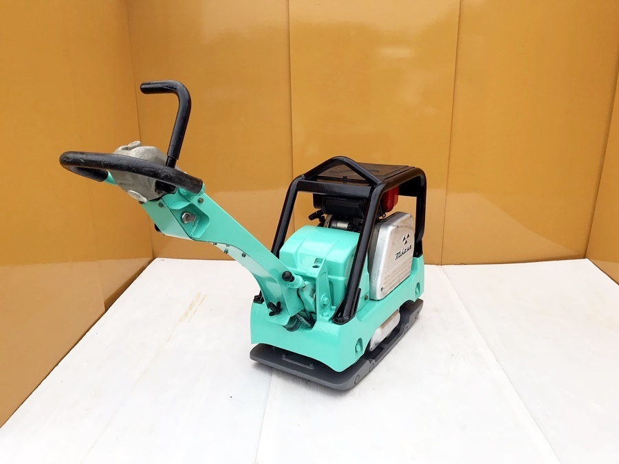 【三笠産業】MIKASA バイブロコンパクター セルモーター付き (MVH-306DS) 中古 転圧/舗装/建設/基礎/土木/農業/水道/設備_画像3