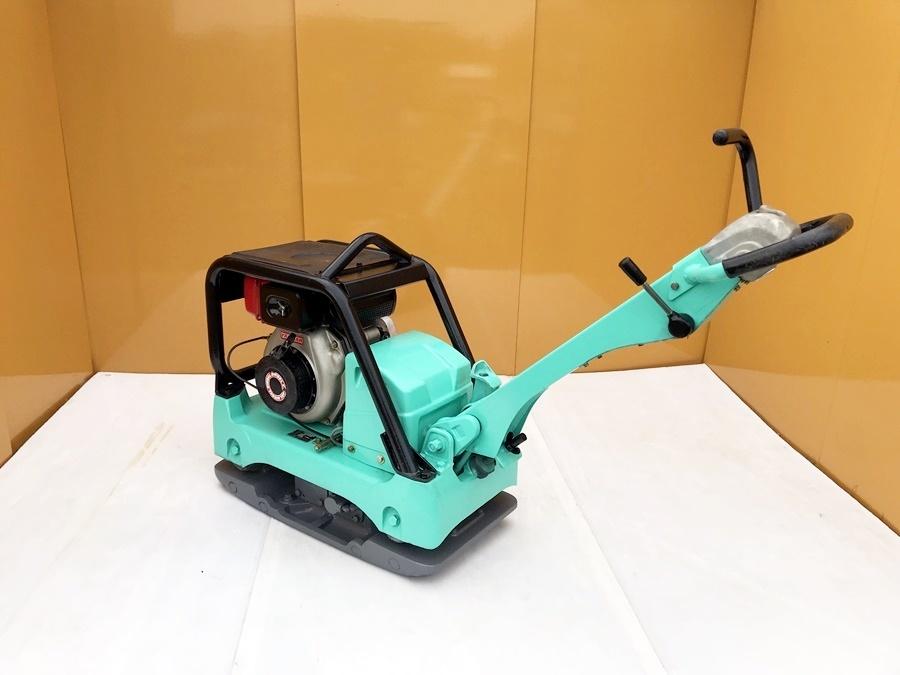 【三笠産業】MIKASA バイブロコンパクター セルモーター付き (MVH-306DS) 中古 転圧/舗装/建設/基礎/土木/農業/水道/設備_画像4