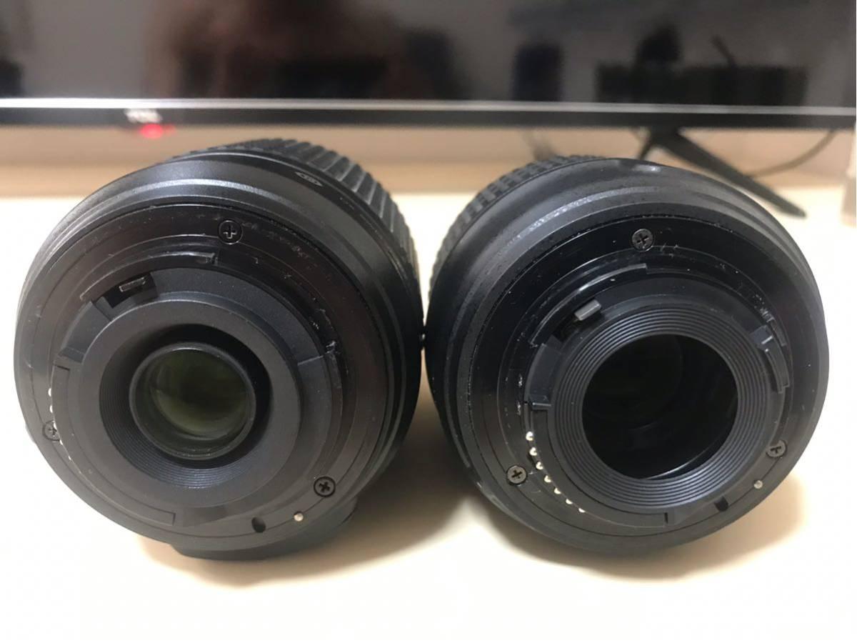 【送料無料】【返品可】NIKON D5300 ダブルームキット2 中古 18-55mm VR 55-200mm VR (ニコン一眼レフ)_画像3