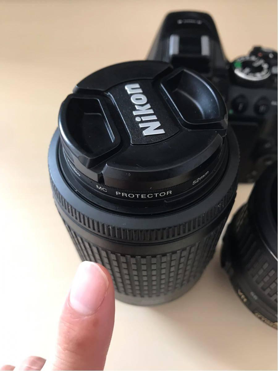 【送料無料】【返品可】NIKON D5300 ダブルームキット2 中古 18-55mm VR 55-200mm VR (ニコン一眼レフ)_画像5