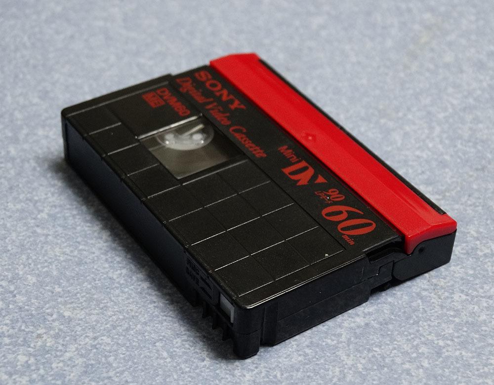 miniDVテープ SONY DVM60 (リサイクルテープ)6本_画像5