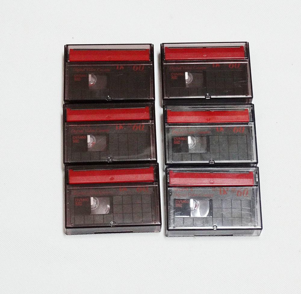 miniDVテープ SONY DVM60 (リサイクルテープ)6本_画像3