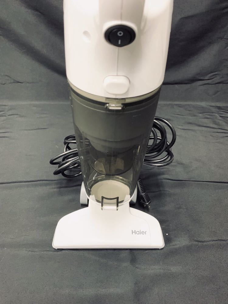 ★美品★ハイアール スティック型サイクロン掃除機 JC-SC100B-W/ホワイト/2018年製_画像6