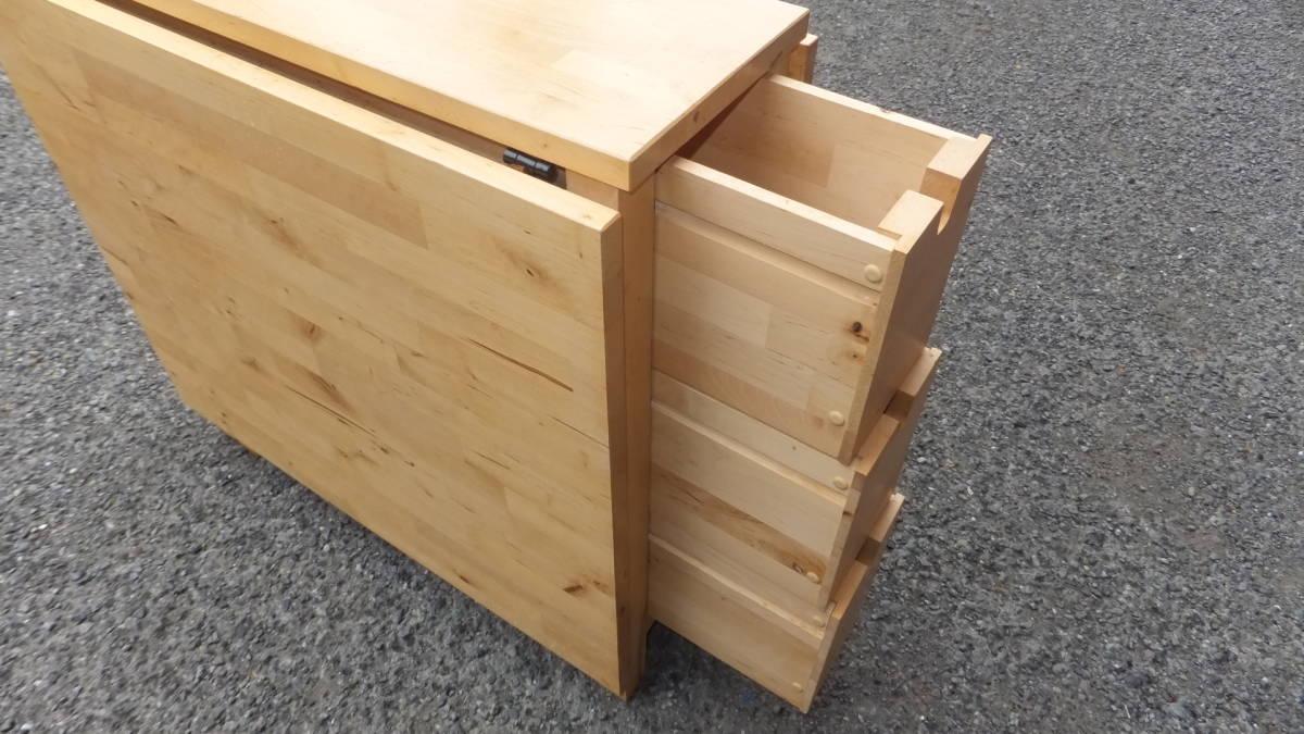 IKEA☆イケア NORDEN☆ノールデン ゲートレッグテーブル バタフライテーブル_画像7