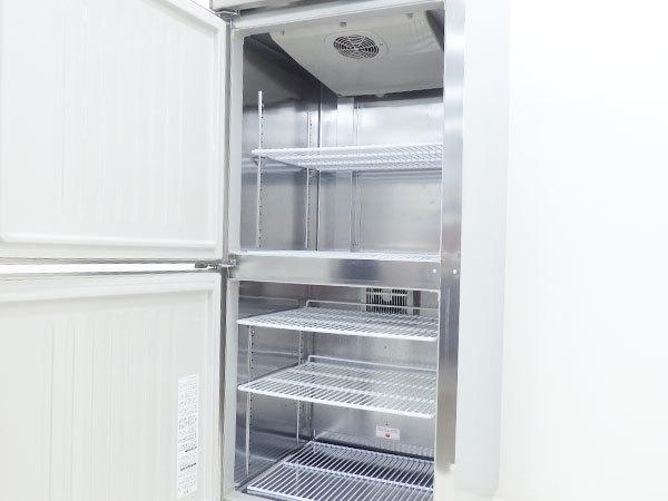 D3124【税込】2016年製 ホシザキ タテ型業務用冷凍冷蔵庫 HRF-75ZT(冷凍231L/冷蔵222L)/ 115万【営業所止め】_画像3