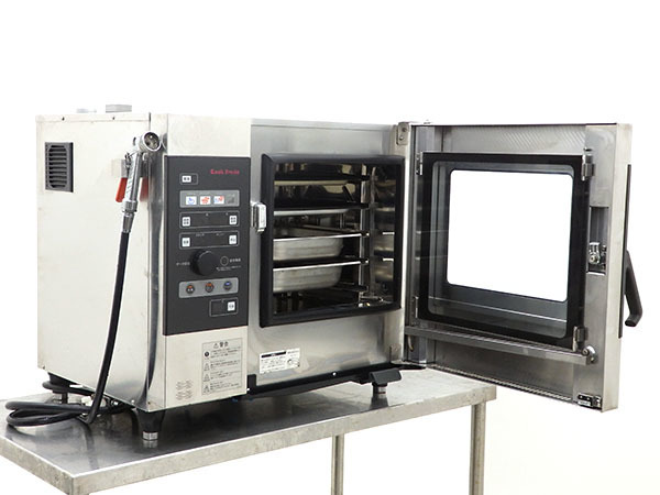 D2632【税込】2010年製 ホシザキ 電気式スチームコンベクションオーブン クックエブリオ MIC-5TA3/113万【営業所止め】_画像2