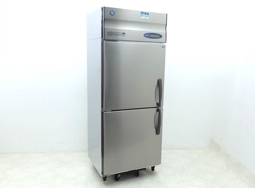 D3124【税込】2016年製 ホシザキ タテ型業務用冷凍冷蔵庫 HRF-75ZT(冷凍231L/冷蔵222L)/ 115万【営業所止め】