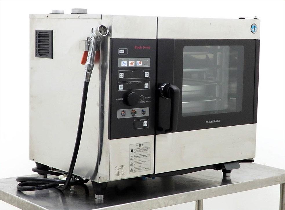 D2632【税込】2010年製 ホシザキ 電気式スチームコンベクションオーブン クックエブリオ MIC-5TA3/113万【営業所止め】_画像1