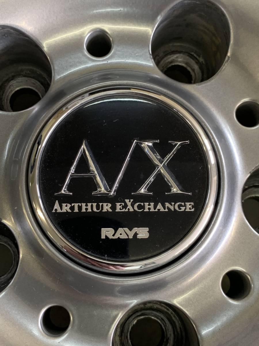 RAYS FOUNDRY アーサーエクスチェンジ 18インチ8J+38 9J+38 4本セット クラウン マークXなどセダンやRX-7 RX-8などに_画像6