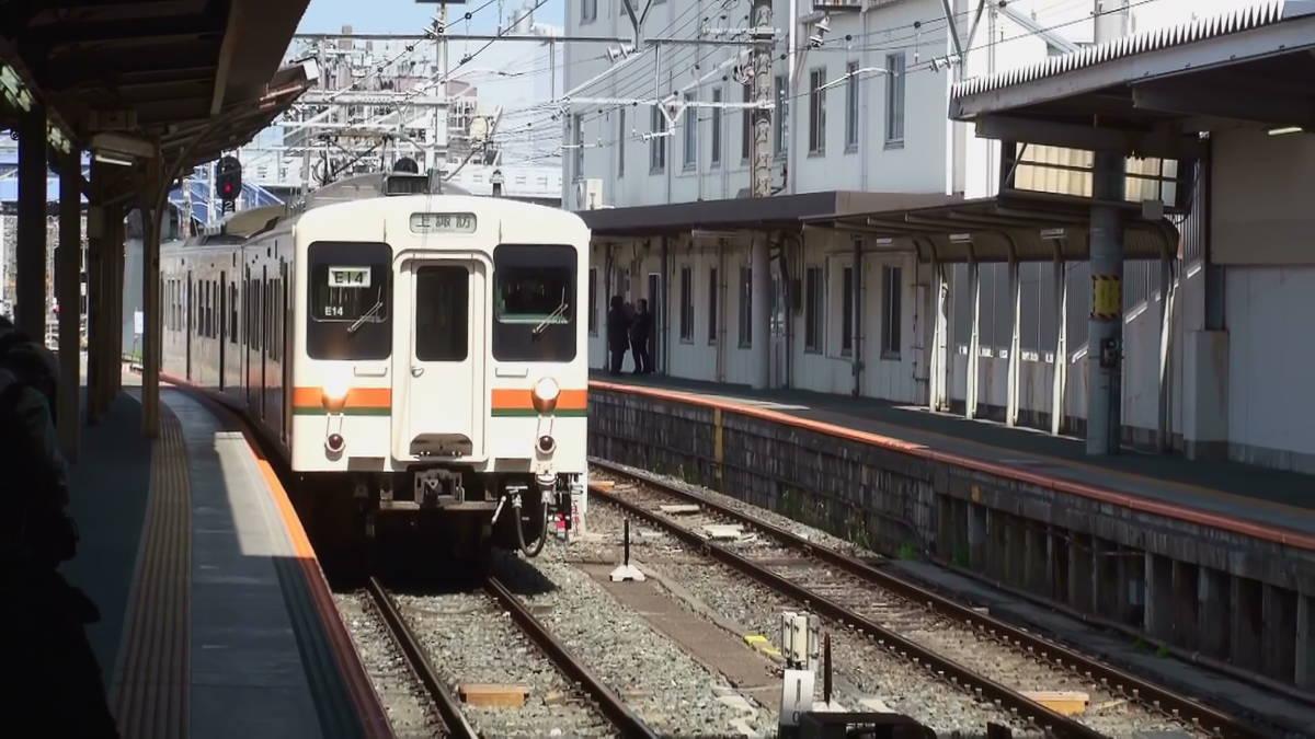飯田線519M 車窓 豊橋→上諏訪 (字幕無/有BD-R DL1枚)_豊橋駅に入線