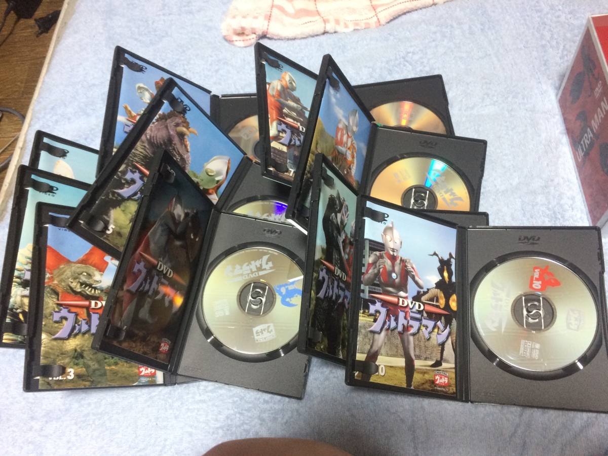 DVD ウルトラマン 初代 全10巻_画像4