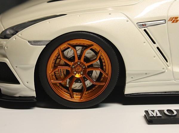 ★★★超希少!世界限定500台!GT-Spirit 1/18 日産 Nissan GTR R35 Modified by Prior Design 2015 白 Pearl White 新品_画像5