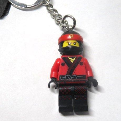 ● LEGO Keychain Ninja Go Kai unused goods