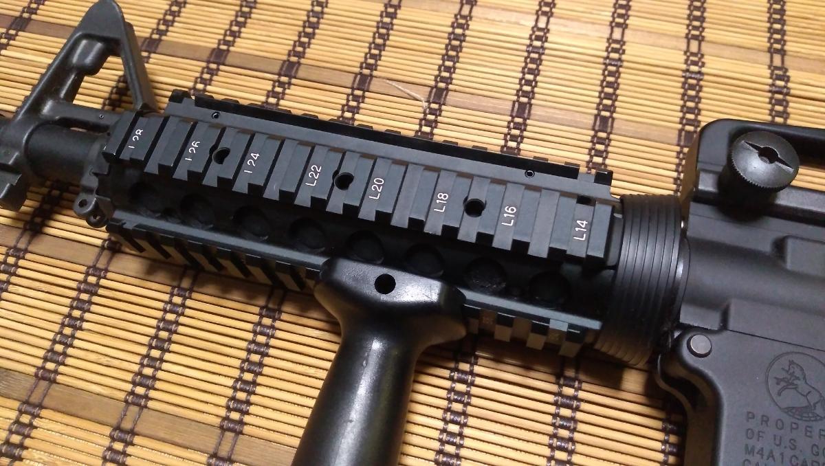 マルイ M4 CQBR BLOCK1 GBB ガスブローバック マグ3本 付属品多数 (MWS_画像5