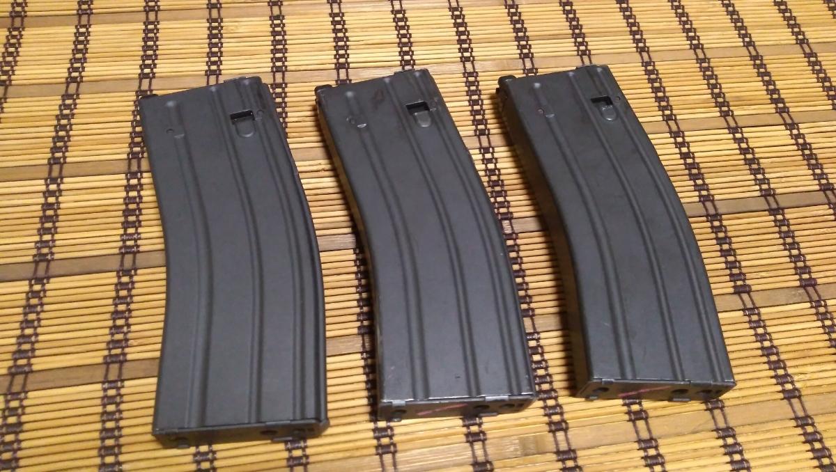 マルイ M4 CQBR BLOCK1 GBB ガスブローバック マグ3本 付属品多数 (MWS_画像7