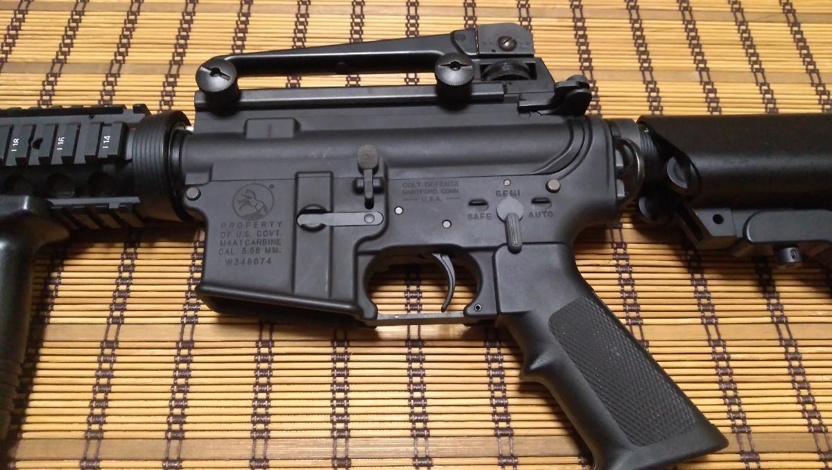 マルイ M4 CQBR BLOCK1 GBB ガスブローバック マグ3本 付属品多数 (MWS_画像2