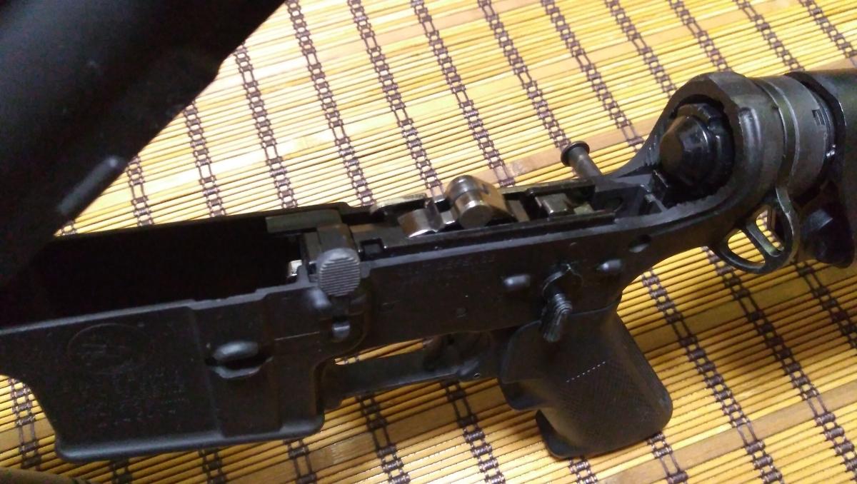 マルイ M4 CQBR BLOCK1 GBB ガスブローバック マグ3本 付属品多数 (MWS_画像6