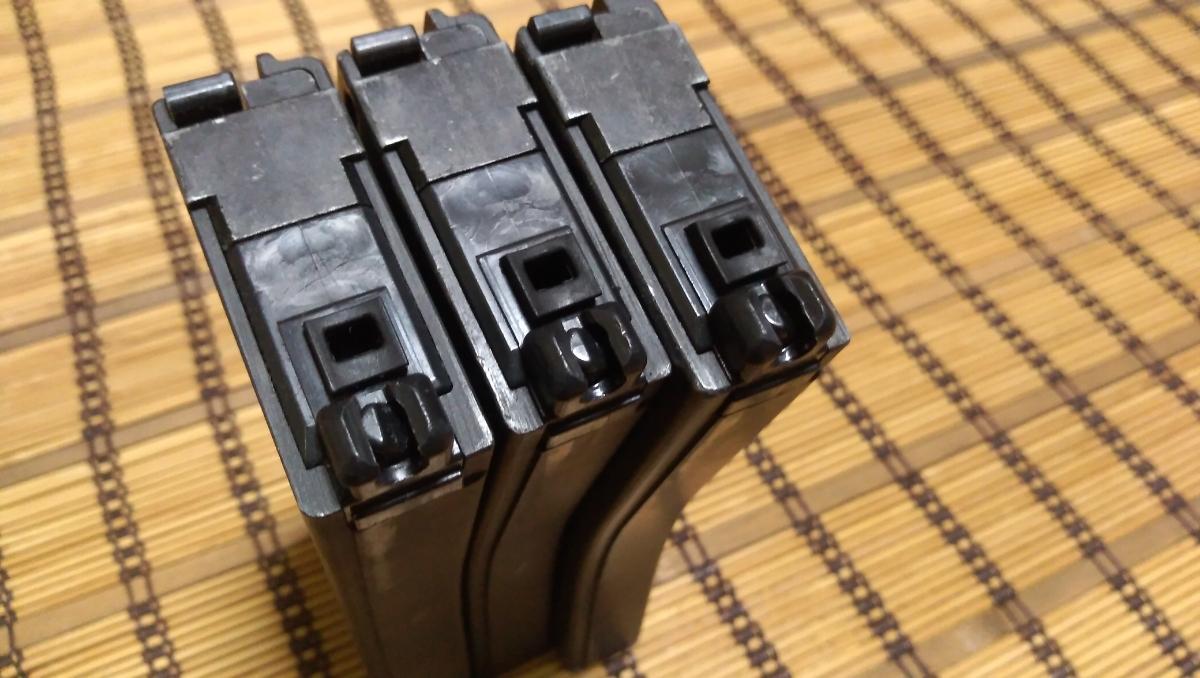 マルイ M4 CQBR BLOCK1 GBB ガスブローバック マグ3本 付属品多数 (MWS_画像9
